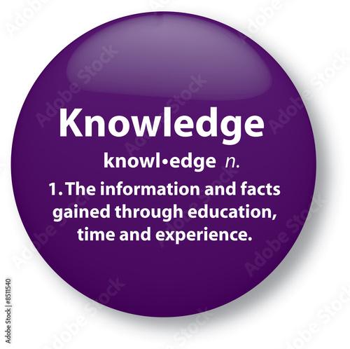 Fotografie, Obraz  Knowledge Definition
