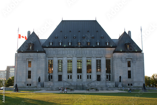 Spoed Foto op Canvas Canada Supreme Court of Canada
