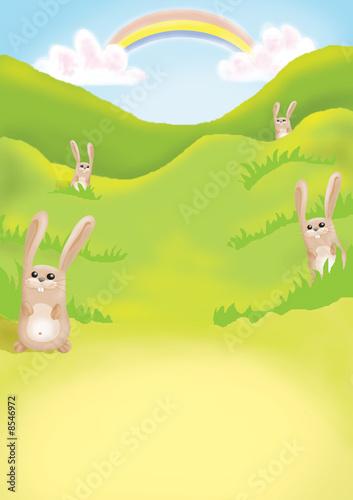 In de dag Regenboog kids illustration 17