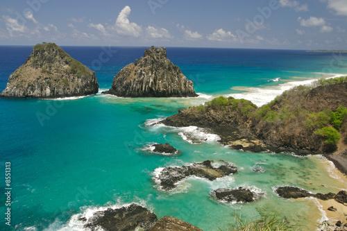 Fotografie, Obraz  Fernando de Noronha Island in Brazil