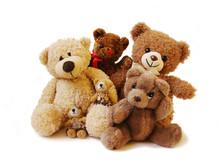 Family Of Teddy Bears