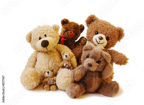 family of teddy bears #8577167