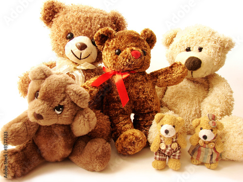 family of teddy bears #8577333