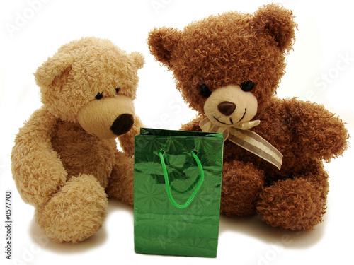 teddy bears & present #8577708