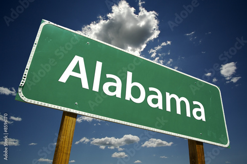 Photo Alabama Road Sign