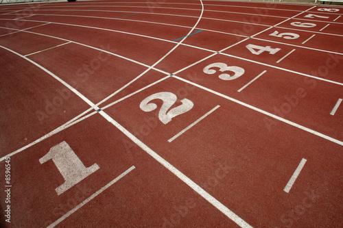 atletismo Tartan Canvas Print