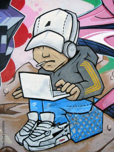 hip hop hacker © Fungus