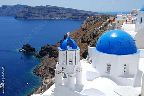 little church in Santorini,Greece