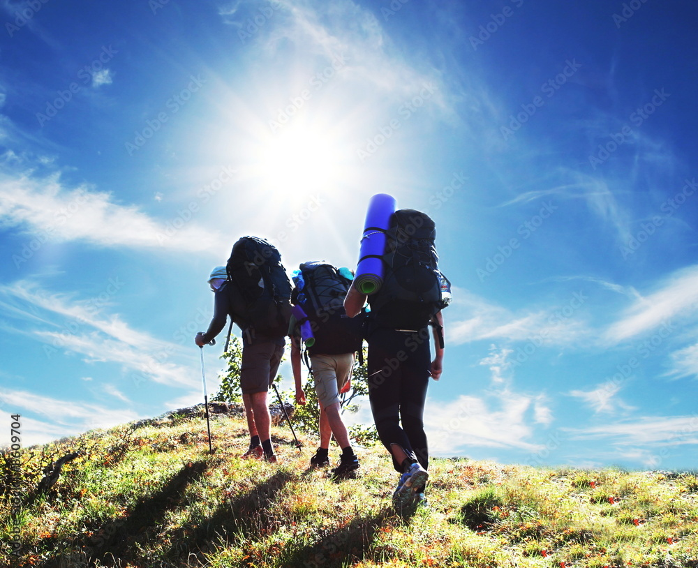 Fototapety, obrazy: Hike
