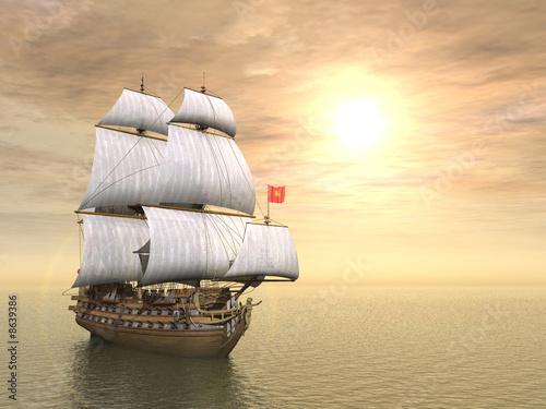 pirate ship - 8639386
