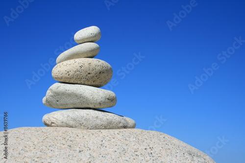 Photo sur Toile Zen pierres a sable galets,galet,zen,pebble,pierres,bretagne