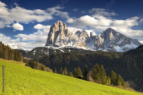 Fotografie, Obraz  Sassolungo