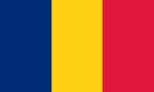 Tschad Fahne Chad Flag