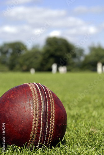 Cricket Ball Fototapet