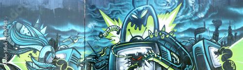 Graffiti Panorama © Thomas Teufel