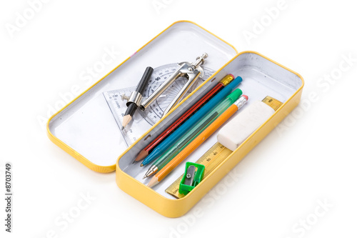 Fotografía metal pencil case