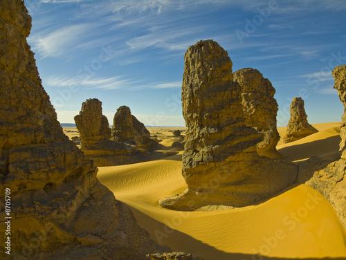 Poster Algérie Wüste