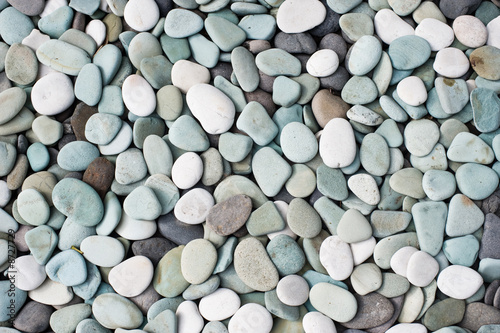 decorative pebbles Canvas Print