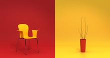 Chaise Et Pot