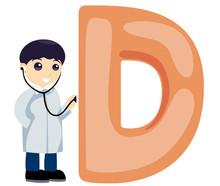 Alphabet Child - D