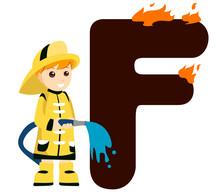 Alphabet Child - F