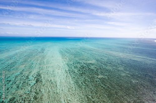 Wielka Rafa Koralowa z nieba