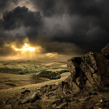 A View Of The Peak District, E...