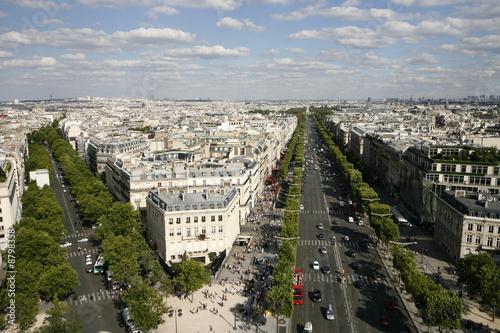 Papiers peints Paris Champs elysees Paris