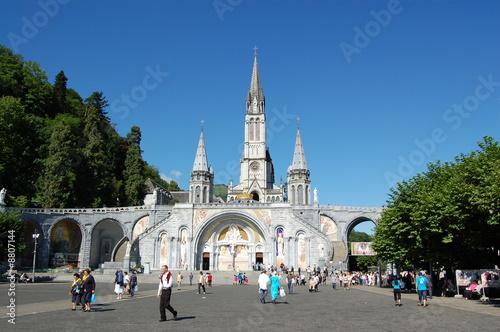 Photo  Cathédrale de Lourdes