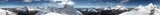Summit 360 degrees panorama