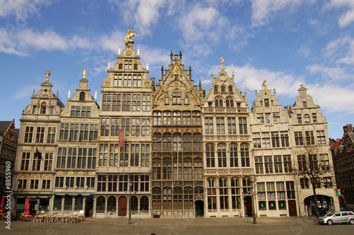 Foto op Plexiglas Antwerpen Grote Markt, Antwerpen