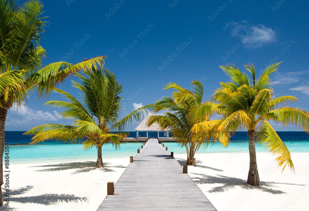 Fototapeta Maldivian Ocean Flair