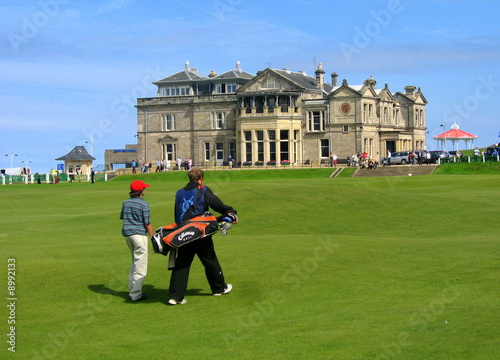 Obraz na plátně royal golf club de St.Andrews