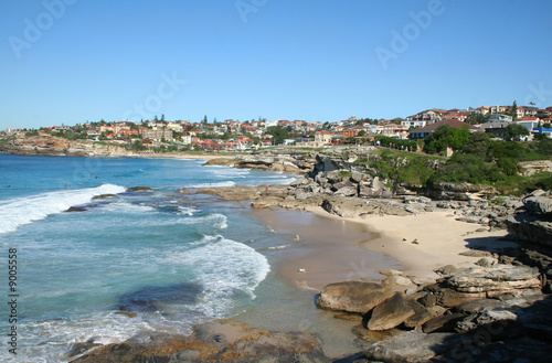 In de dag Australië The view looking South towards Bronte from Tamarama