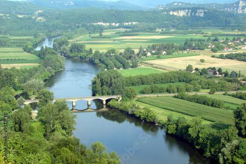 Photo La Dordogne vue de Domme