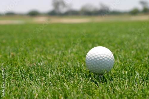 Deurstickers Golf Golf Ball