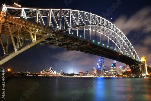 Oper und Harbour-Bridge von Sydney