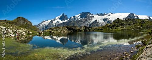 Valokuva  Lac Lérié et la Meije (Plateau d'Emparis)