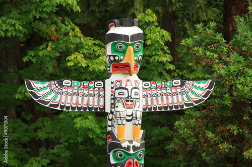 Fotografie, Obraz  Totem Pole