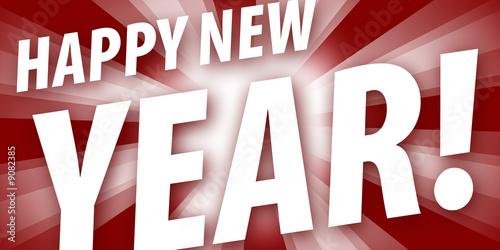 Fotografie, Obraz  Happy new year!