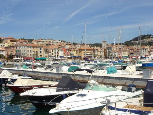 Foto auf AluDibond Schiff Port de Cassis