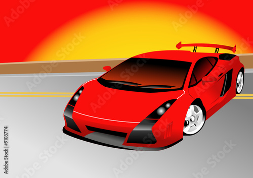 Canvas Prints Cars Fantastic Car Series