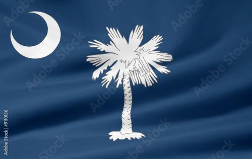 South Carolina Flagge Slika na platnu