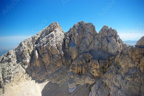 Fotografie, Obraz Gran Sasso: Massiccio Centrale ( 2903 mt)