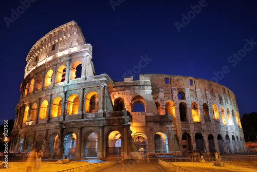 Foto op Canvas Rome Colosseum