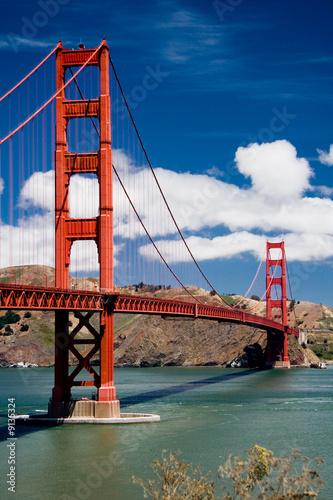 Foto-Kassettenrollo premium - Golden Gate Bridge (von oscity)