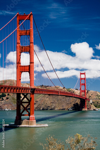 Foto-Rollo premium - Golden Gate Bridge