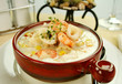 Delicious thick and creamy seafood chowder