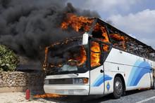 Autobus Ardiendo