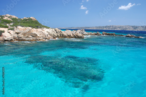 Isola di Santa Maria, Sardegna Fototapeta